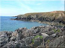SH1630 : Coastline north of Porth Oer by Alison Pryce