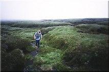 NN7213 : Dissected peat bog, Beinn nan Eun. by Richard Webb