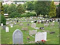 SU8693 : High Wycombe Cemetery 2 by Helena