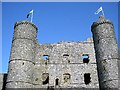 SH5831 : Harlech Castle by Kay Williams