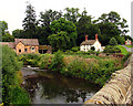 SO4876 : Teme River near Bromfield by Pam Brophy