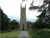 ST7093 : Tortworth St Leonard Church by Chris Shaw