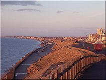 SD3040 : Bispham Seafront with Norbreck Castle in Distance by john