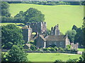 SO2827 : LLanthony Priory basking in the sun by Neil Booth