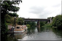 ST6868 : Avon Walkway  path crossing the River Avon. by Martyn Pattison