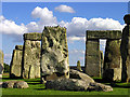 SU1242 : Bird's Resting Place: Stonehenge by Pam Brophy