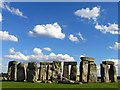 SU1242 : A Summer's Afternoon: Stonehenge by Pam Brophy