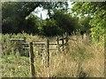 SP6815 : Public Footpath near Wotton by Hywel Williams