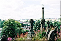 SD6930 : Blackburn Cemetery by Mike and Kirsty Grundy