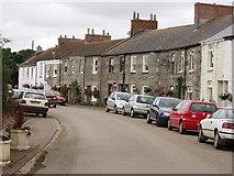 SW5937 : Main street Gwinear by Sheila Russell