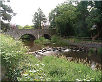 J2053 : Bridge over the River Lagan at Dromore, Co. Down by paddy heron