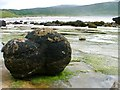NM4788 : Globular Calcite Concretion, Laig Bay by Mick Garratt