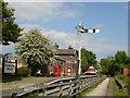 SJ3377 : Hadlow Road Station, Willaston by Sue Adair