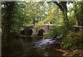 SX3565 : St Mellion: Clapper Bridge by Martin Bodman