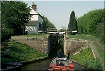 SJ9319 : Deptmore Lock, Staffordshire and Worcestershire Canal by David Stowell