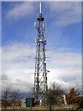 SO3487 : Oakeley Mynd TV-Tower by David Neale