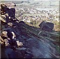 SE1346 : Cow and Calf, Ilkley, West Yorkshire by Pete Chapman
