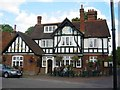 SU9993 : The Merlins Cave Pub at Chalfont St Giles by Jack Hill