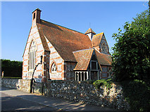 SU4375 : St James at Leckhampstead by Pam Brophy