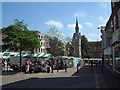 SP8113 : Market Square - Aylesbury by Steve Cook