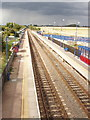 SP7308 : Haddenham and Thame Parkway Station by David Hawgood