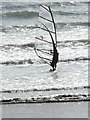 SW5031 : Windsurfer, very popular pastime. by Colin Roderick
