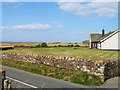 NY0741 : View towards Allonby including Mealo House by Nigel Monckton