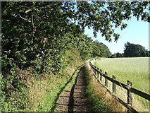 SJ2486 : Public footpath from Frankby Road to Montgomery Hill by Peter Miller