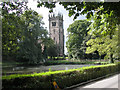 SJ8969 : Gawsworth Church in August by Andrew Huggett