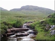 NH2179 : Stream, Meall Doire Faid by Chris Eilbeck