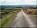 SE0944 : Ilkley Road crossing Morton Moor by David Spencer