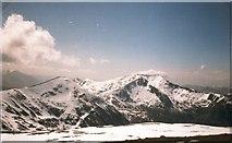 NN1644 : View west from the summit of Stob Coir'an Albannaich by Gordon Brown