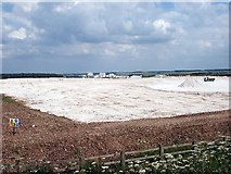 TA0711 : Melton Ross Limestone Quarry by David Wright