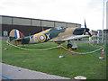 TL4646 : Hawker Hurricane Mk 1, Duxford, Cambs by Rodney Burton