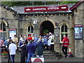 SE0337 : Haworth Railway Station by Bev Dickinson
