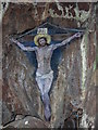 NR7619 : Christ on the Cross - Cave Painting - Davaar Island, Kintyre by Gary Sutherland