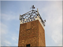 SK4393 : Cycling Weathervane by Christopher Thomas