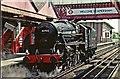 SU9698 : Steam Train at Amersham Station by Christine Matthews