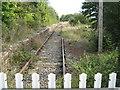 SP7126 : Railway track heading towards Winslow by Jon S