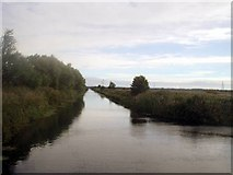 SE8110 : Three Rivers, centre river from near Pilfrey Bridge by Angus Townley