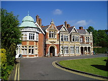 SP8633 : Bletchley Park House by Jon S