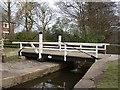 SJ9170 : Moss Head swing bridge by David Kitching