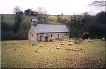 SO1834 : St Ellyw's Church Llanelieu by Humphrey Bolton