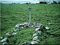 NR5916 : Sailor grave Innean Bay, Mull of Kintyre. by Johnny Durnan