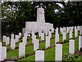 SU3001 : War Graves at St Nicholas' churchyard, Brockenhurst, New Forest by Jim Champion