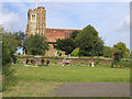 TL1135 : Lower Gravenhurst Church, Beds by Rodney Burton