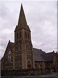 SJ5395 : St Peter's Church, Parr, St Helens by S Parish