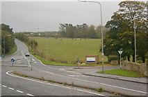 NS3618 : Ayr Hospital entrance by L J Cunningham