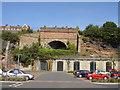 SJ3587 : Overhead Railway Tunnel by Sue Adair