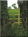 SK7426 : Stile on Brock Hill, Leicestershire by Kate Jewell